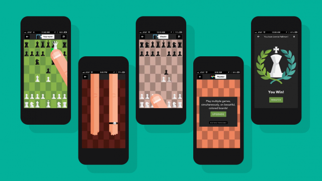 Letterpress-like Tall Chess moves to version 2.0 with AI integration and new design