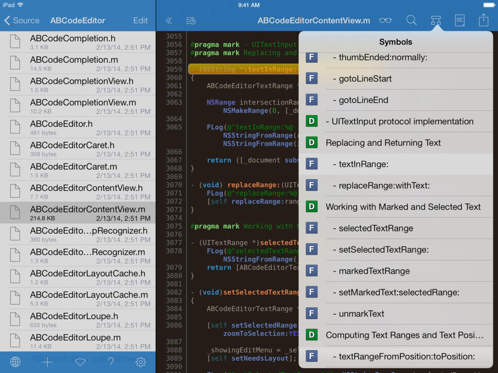 Textastic Code Editor for iPhone and iPad updated with new iOS 8 features and more