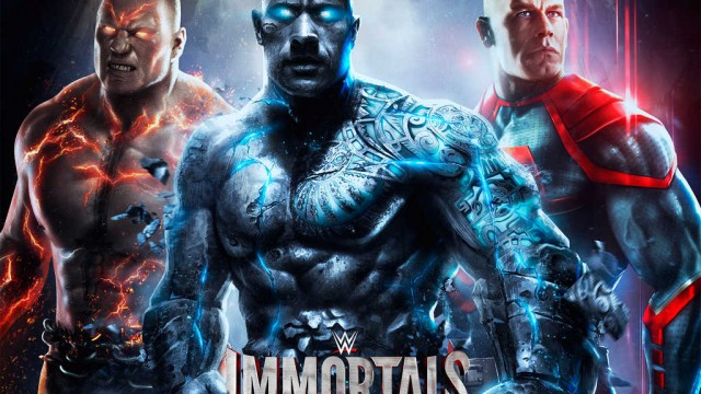 The worlds of pro wrestling and Injustice: Gods Among Us collide in WWE Immortals