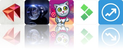 Today's apps gone free: Pry, LensFlare, The Wonder Cat and more