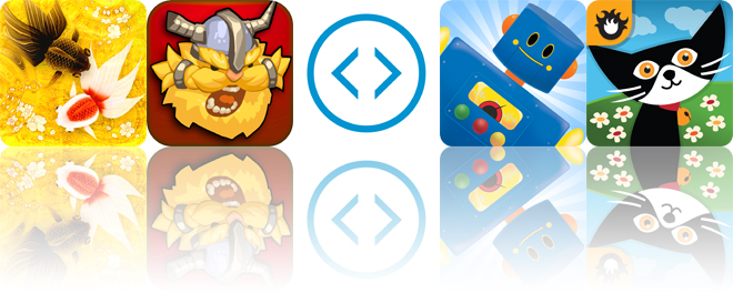 Today's apps gone free: Wa Kingyo, Viking's Journey, Change and more