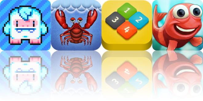 Today's apps gone free: Lost Yeti, Lobster Tale, Numble and more