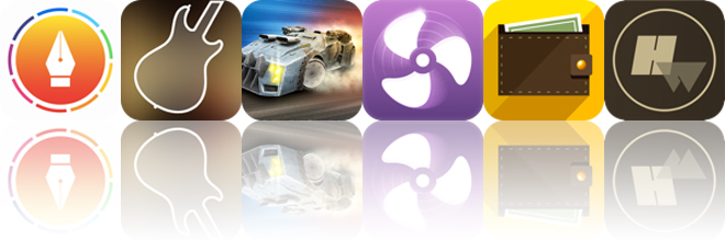 Today's apps gone free: Tag Journal, Star Scales HD, Battle Riders and more