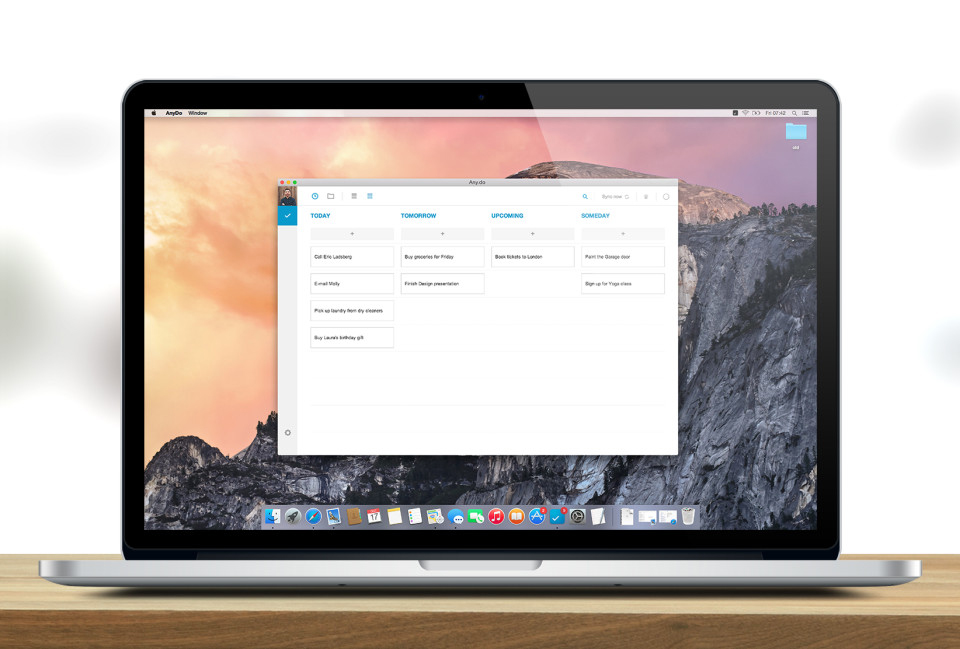 Powerful iPhone and iPad task manager Any.do arrives on the Mac