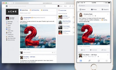 Facebook soft launches its business-centric social network, Facebook at Work