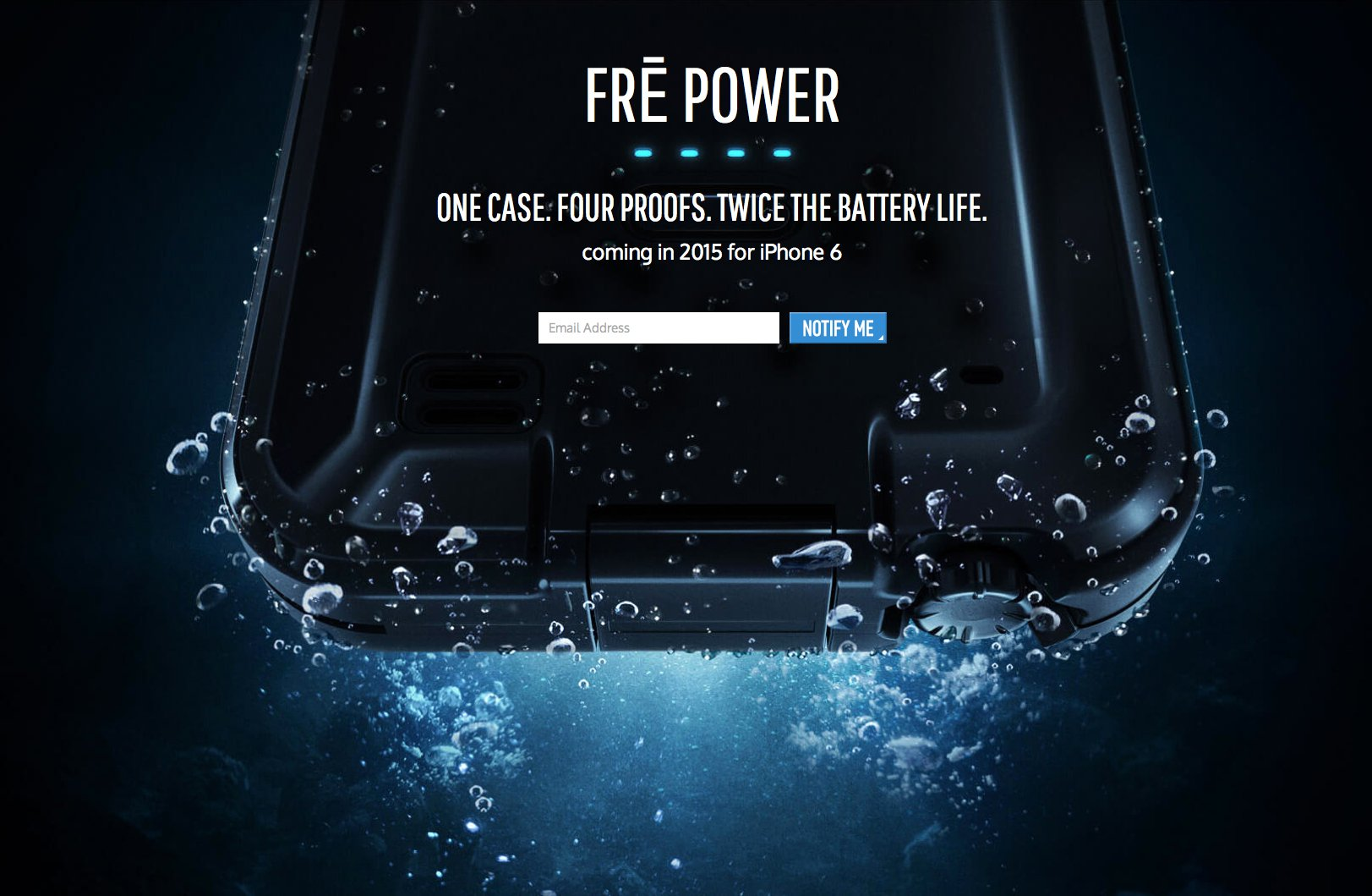 CES 2015: LifeProof's new iPhone 6 case, the Fre Power, might just be the ultimate accessory
