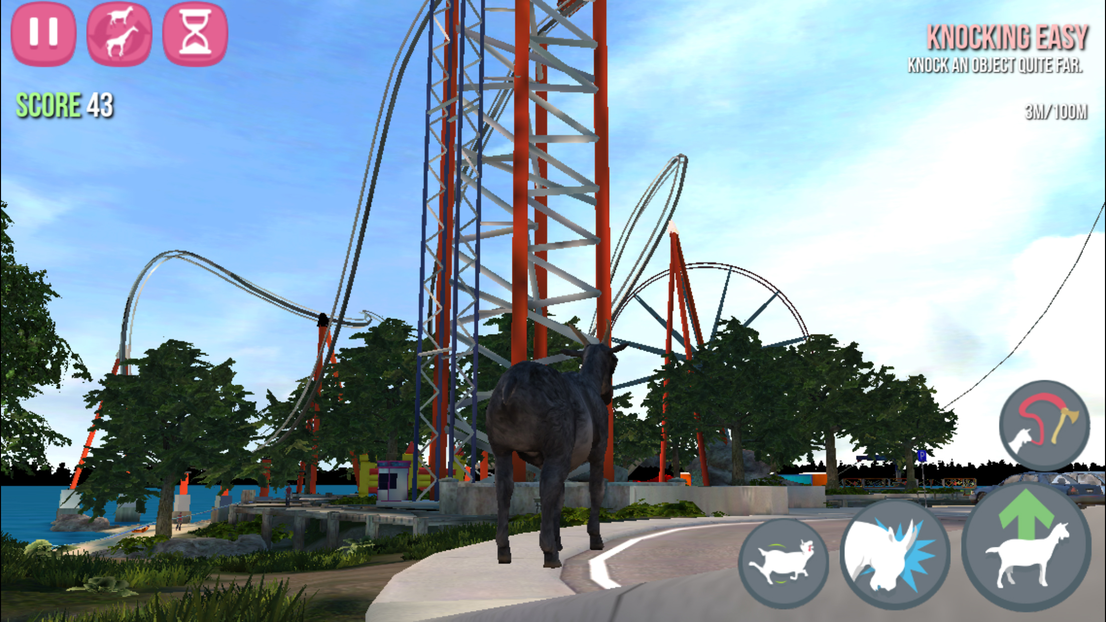 Goat Simulator update ushers in a new map and more mindlessly fun destruction