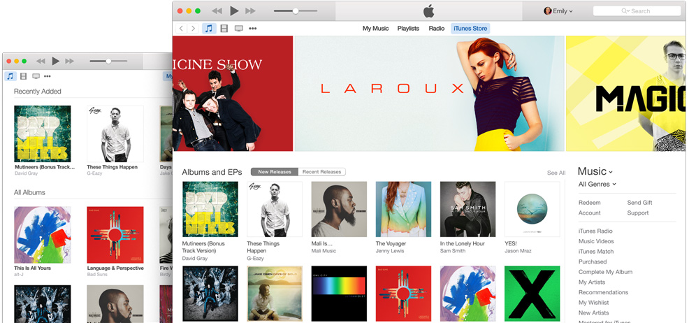 Apple updates iTunes for Mac with new Today widget and syncing improvements