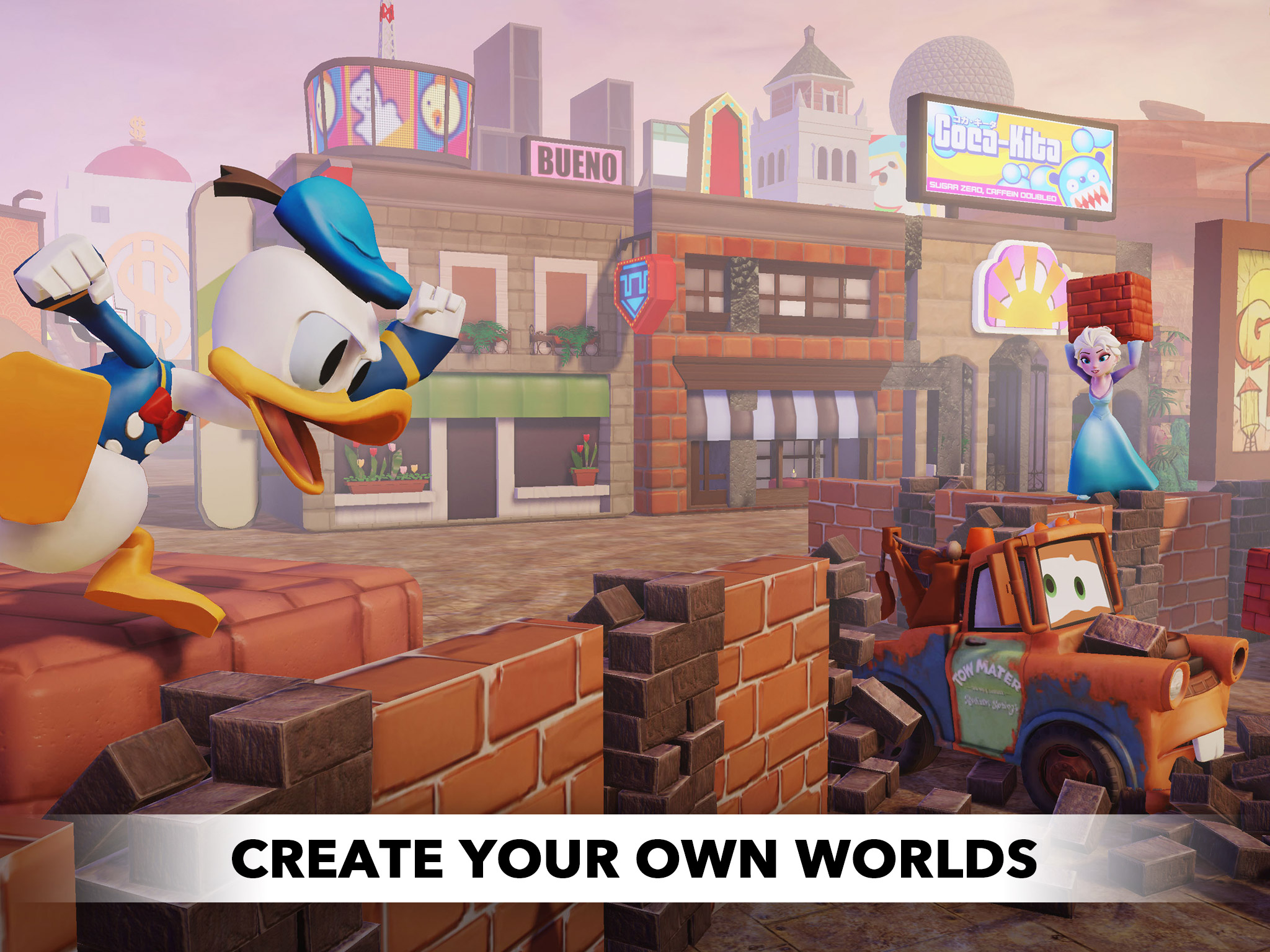 Powered by Apple's Metal API, Disney Infinity: Toy Box 2.0 launches for iPhone and iPad