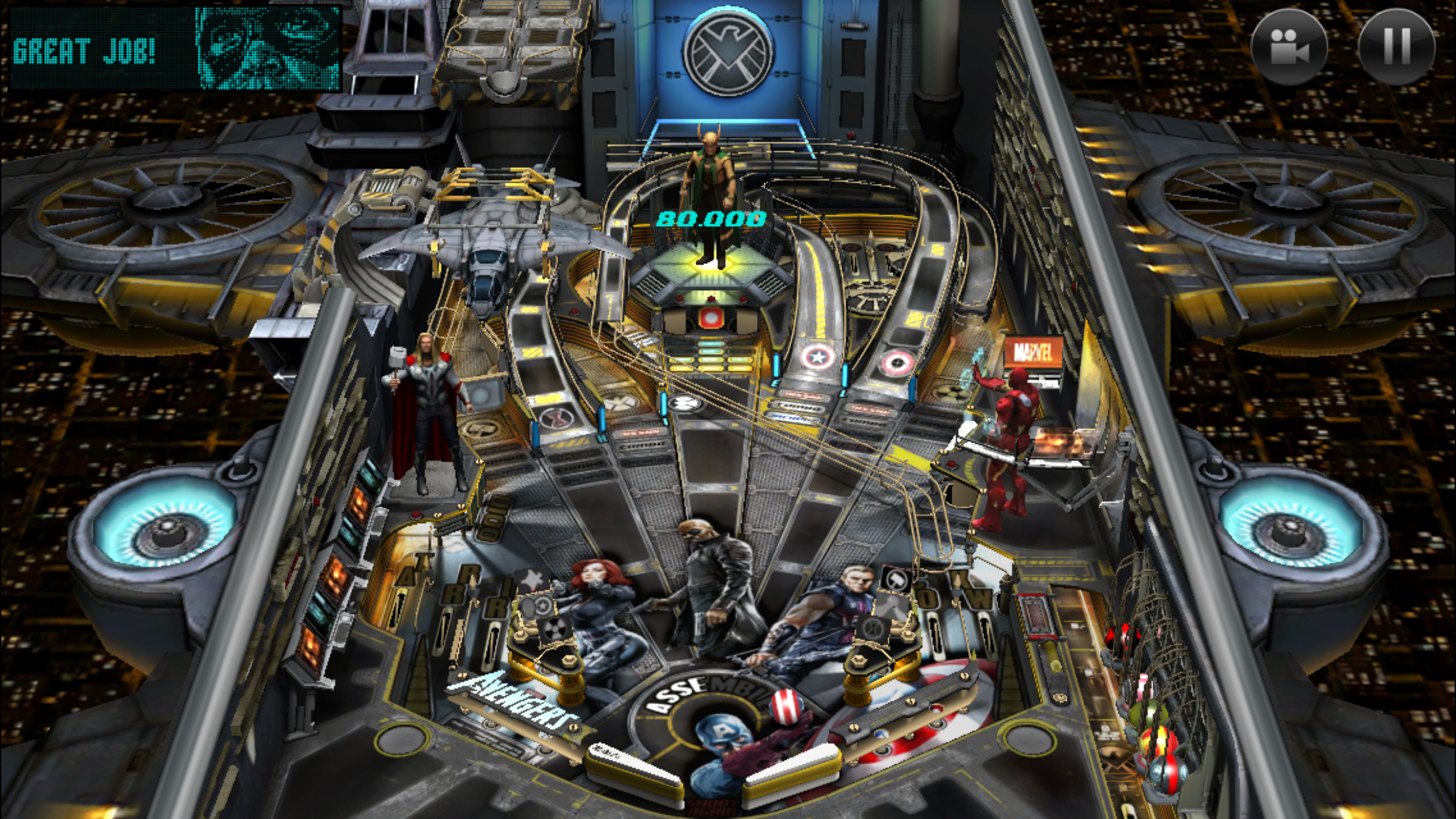 Zen Studios' fantastic Marvel Pinball game goes free