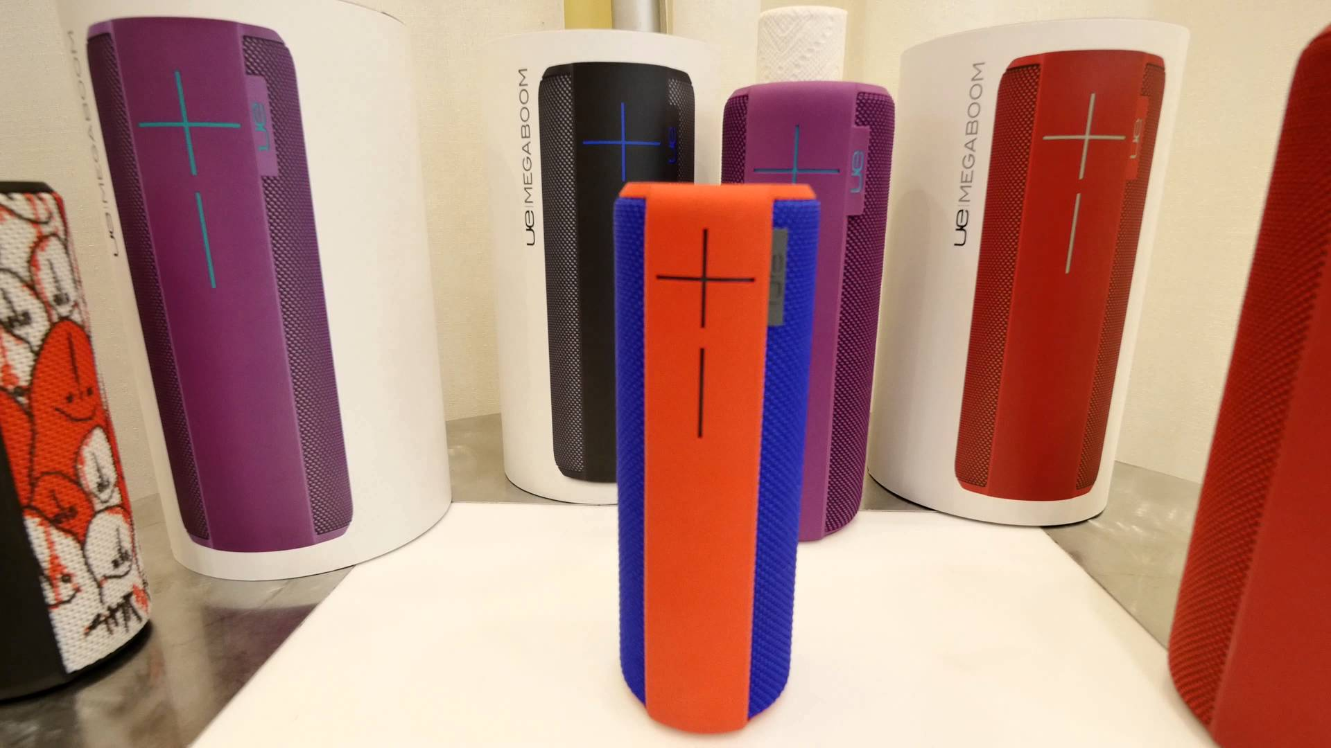 The UE Megaboom should be your next Bluetooth-enabled speaker