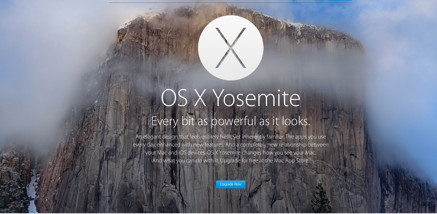 Apple seeds yet another beta version of OS X Yosemite 10.10.2 to registered developers