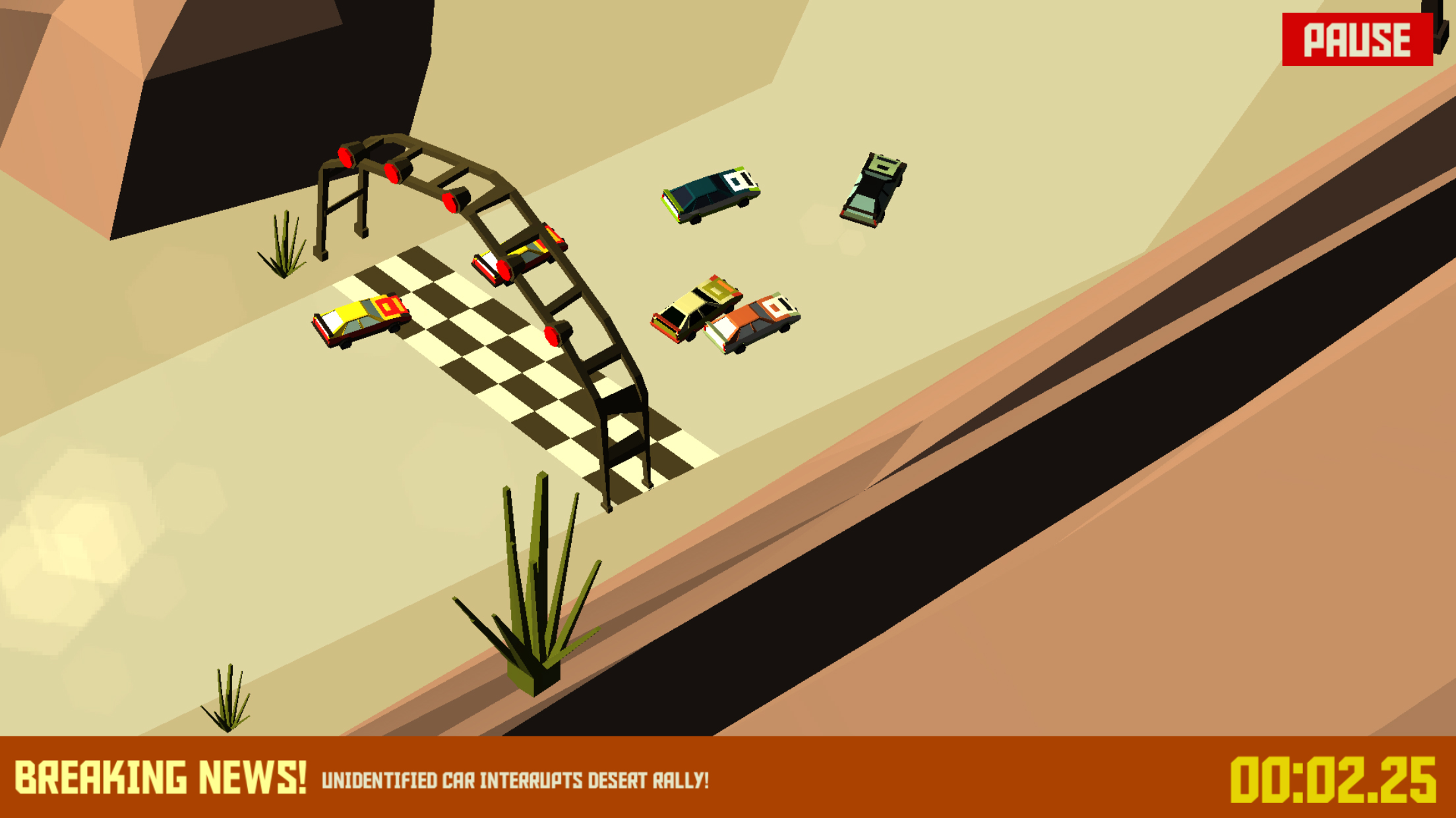 Pako – Car Chase Simulator update brings three new maps and five new cars