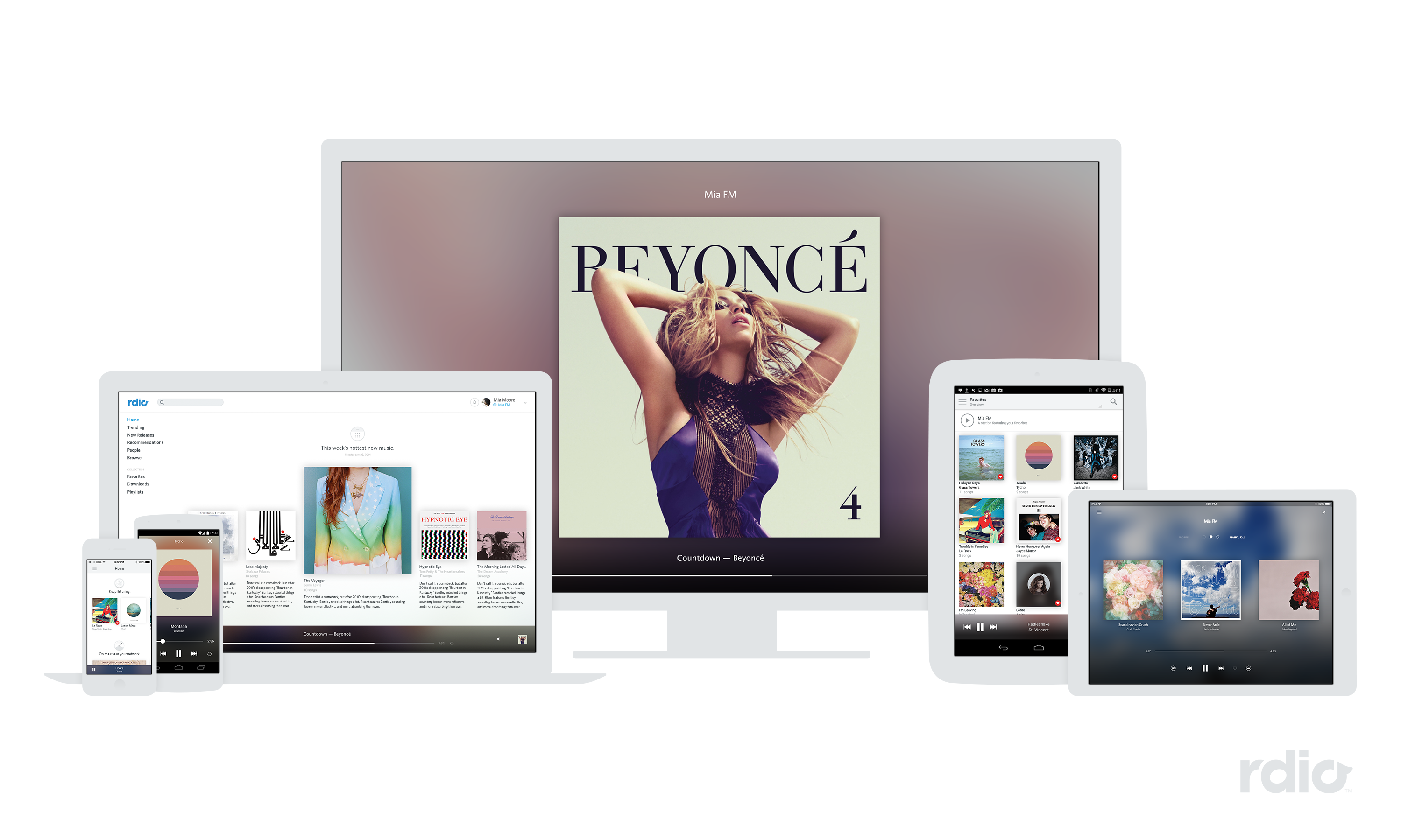 rdio-product-lineup
