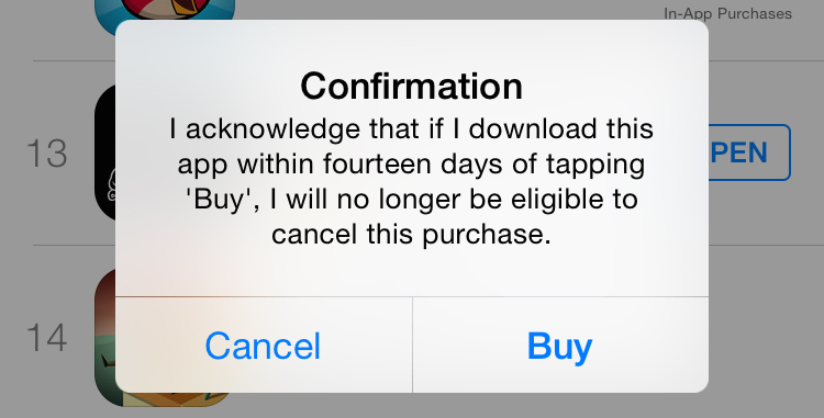 Apple is cracking down on European Union users who abuse the new 14-day app return policy