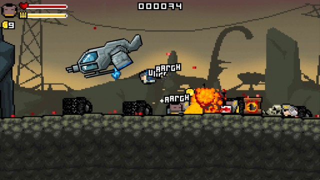 Run-and-gun your way to saving the world in Gunslugs 2, an action-packed arcade shooter