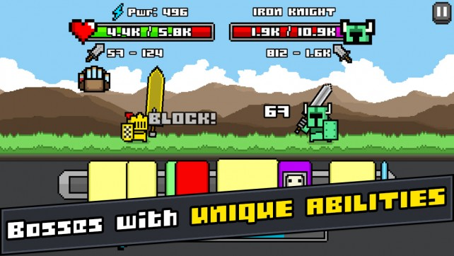 Time your taps and wipe out your foes in Combo Quest, an intense endless time-tap RPG