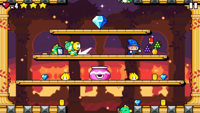 Drop Wizard is a new arcade game that will cast a spell of delight over you