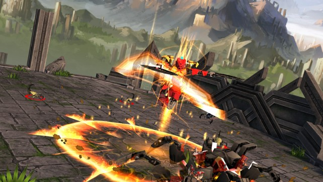 Master the elements in the latest title from the Lego Bionicle series.