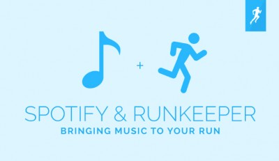 Easily workout and rock out with RunKeeper's new Spotify integration