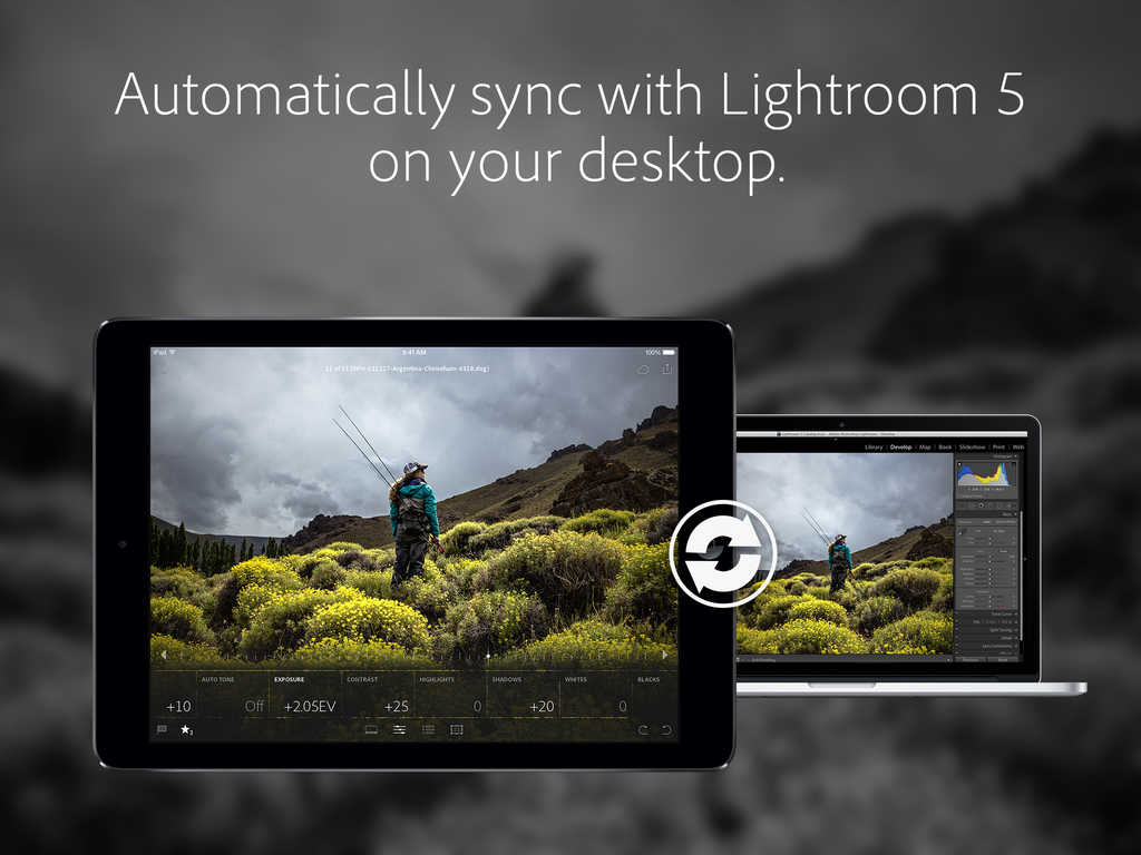 Adobe Lightroom for iPad