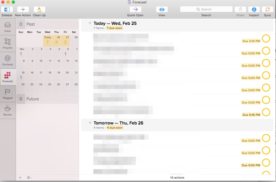 OmniFocus for Mac update brings new look and Today/Share extensions