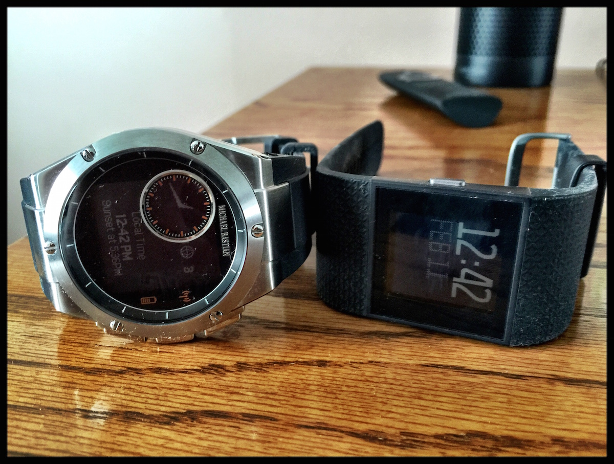 What Apple needs to learn from the MB Chronowing and Fitbit Surge smart watches