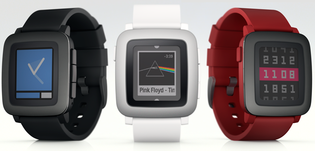 The Pebble Time smart watch launches on Kickstarter