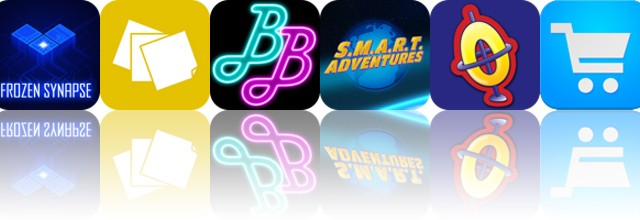 Today's apps gone free: Frozen Synapse, Sticky Notes, BounceBounce and more