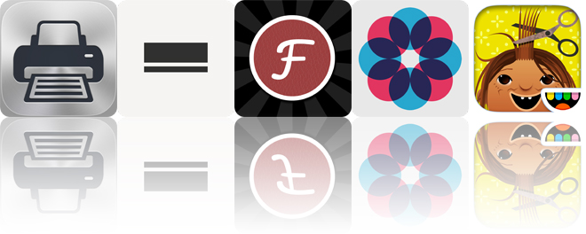 Today's apps gone free: Printer Pro, Monote, Fontpress and more