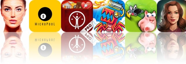 Today's apps gone free: Facial Massage, MicroPool, LifeTicker and more