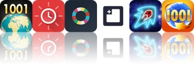 Today's apps gone free: 1001 Wonders of the World, Red Clock, Oflow and more