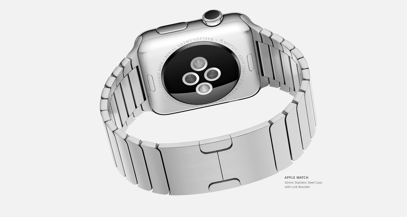 Could we hear more about the Apple Watch in less than 3 weeks?