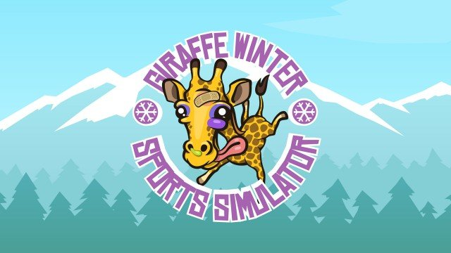 Giraffe Winter Sports Simulator launches for iOS with stunts of laughter