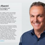 Apple's Luca Maestri is the most admired Fortune 500 CFO, according to a new survey
