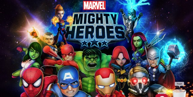 Marvel Mighty Heroes jumps its way onto the App Store later this year