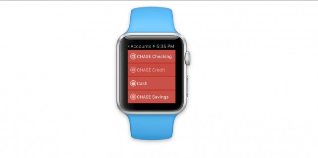 Here's a preview of the MoneyWiz 2 and MileWiz Apple Watch apps