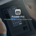 Printer Pro is selected as Apple's latest free App of the Week