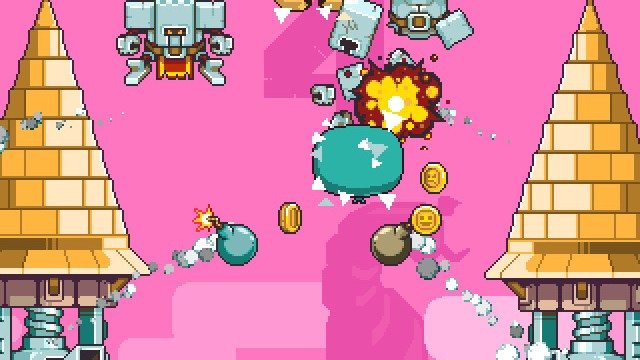 Fend off intruders as a magical wizard in Magic Touch, a new action-packed arcade game from Nitrome