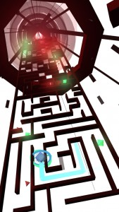 You have to be fast to find the right path in Hyper Maze Arcade