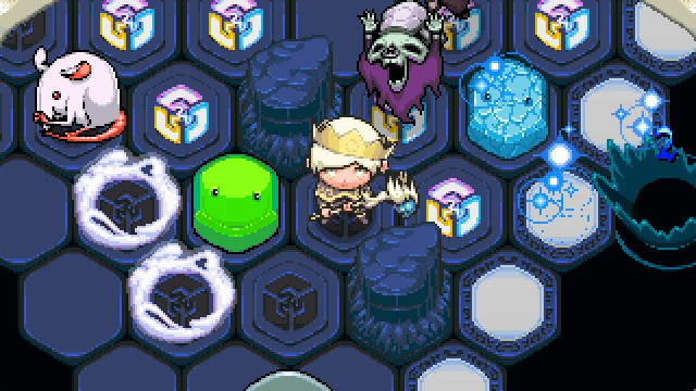 Bump your way to victory in Auro, a challenging strategy game