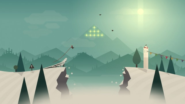 Grab your board and hit the slopes in Alto's Adventure, a beautiful endless snowboarding game