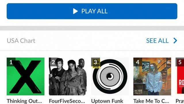 Shazam update offers better integration with Spotify and Rdio