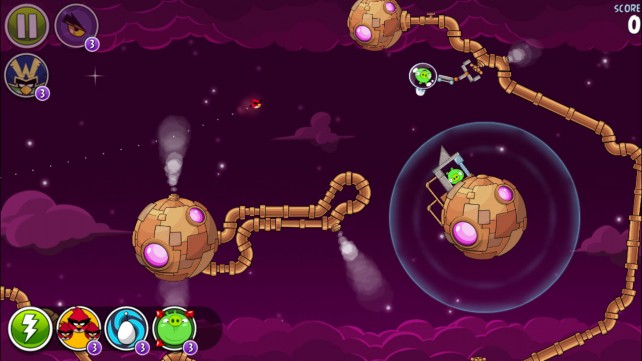 Rovio unveils nice updates for both Bad Piggies and Angry Birds Space