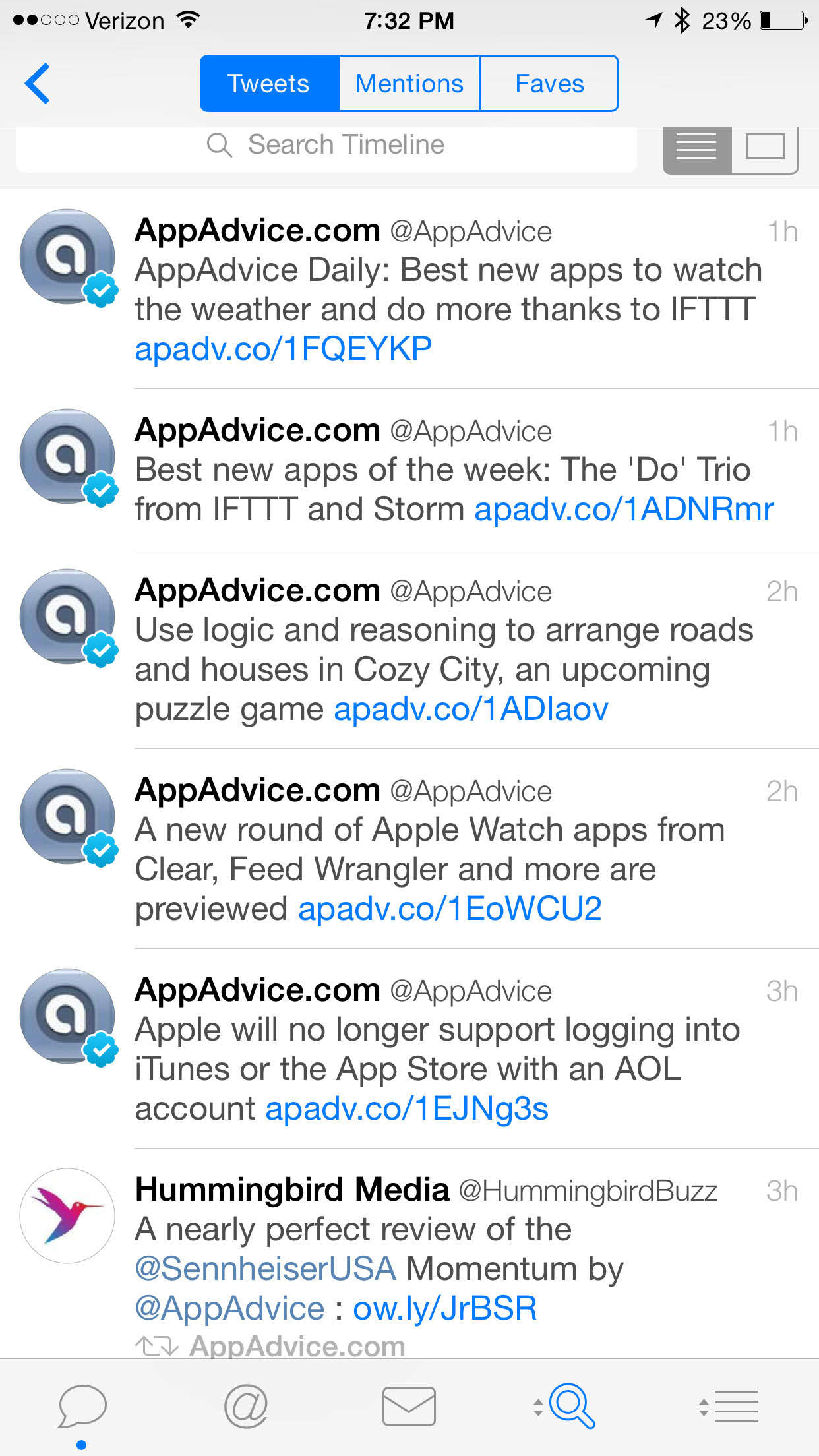 Tweetbot for iPhone updated with support for viewing Twitter Videos and more