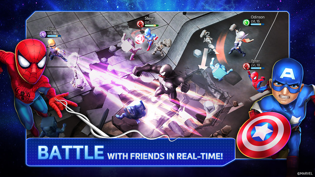 Marvel Mighty Heroes for iOS.