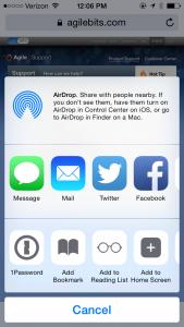 1P iOS v5 Safari Extension