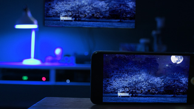 boost your home cinema setup with hue camera for philips hue bulbs. Black Bedroom Furniture Sets. Home Design Ideas