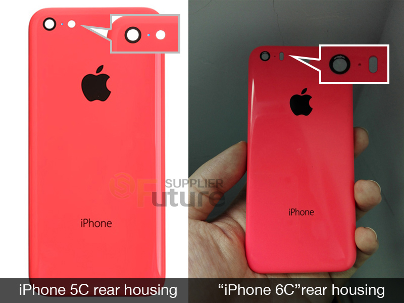 Is this our first glimpse of the 'iPhone 6c' rear shell?