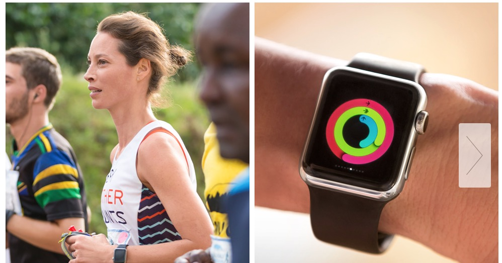 Apple Watch - Christy Turlington Burns - Week One